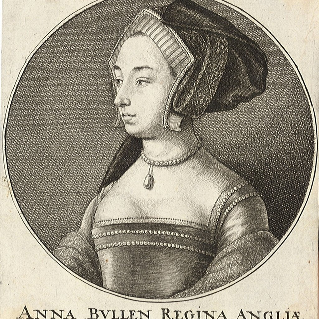 Anne Boleyn 1536 wearing Pearls