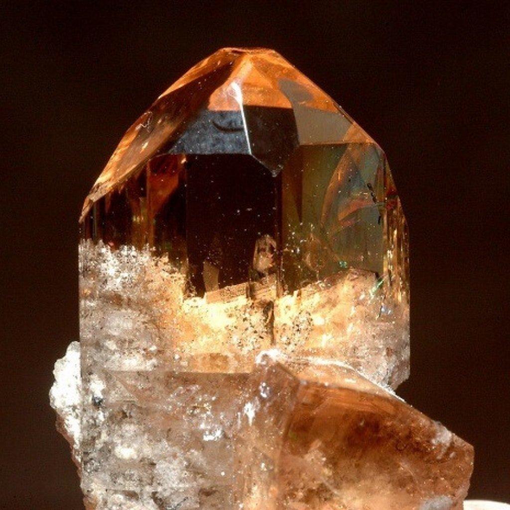 November Birthstone Topaz Crystal Rock