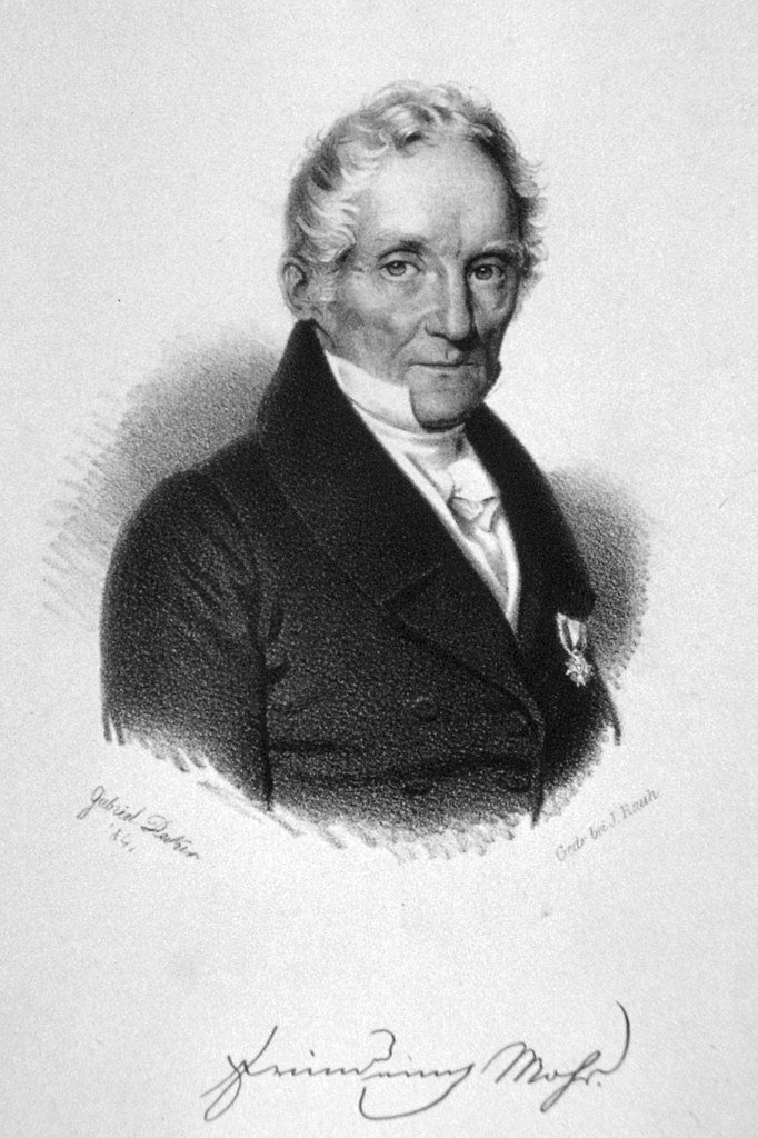 Friedrich Mohs founder of the Mohs Hardness Scale