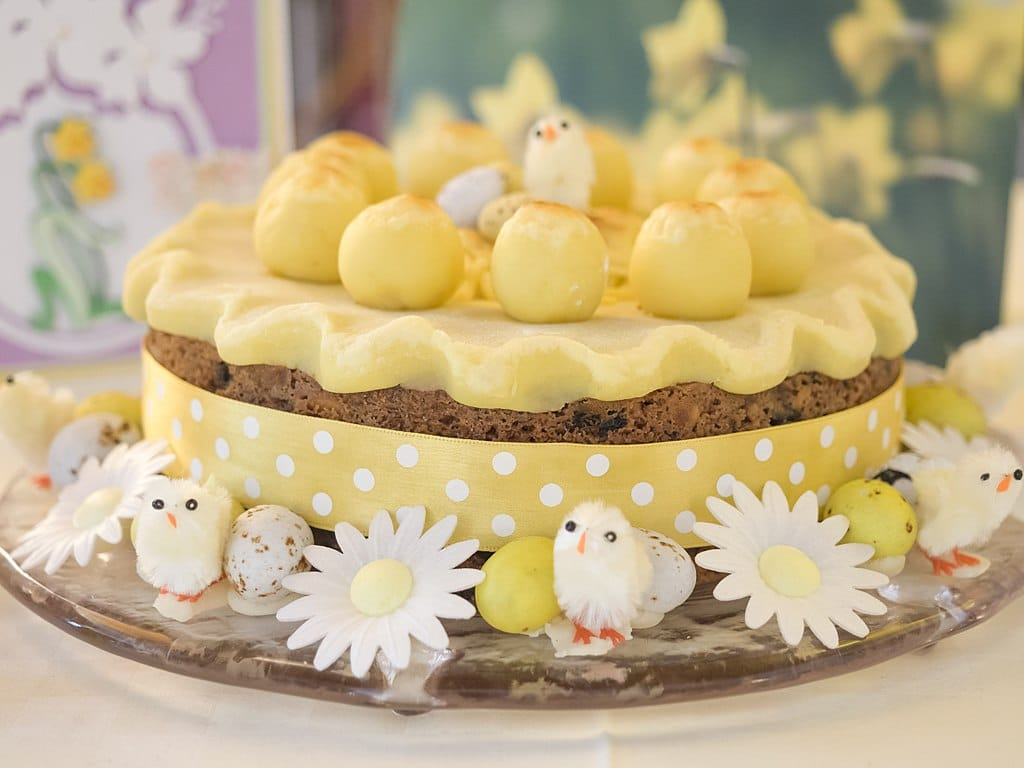 Mother's Day Simnel Cake