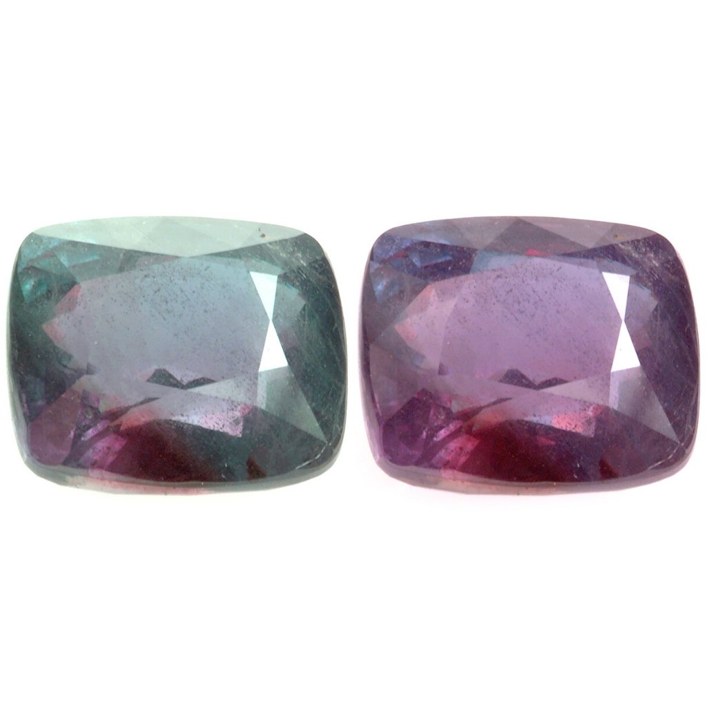 June Birthstone Alexandrite Cut Gemstones