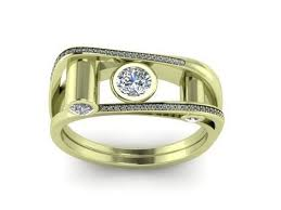 Colour of Gold Jewellery, Green Gold Ring