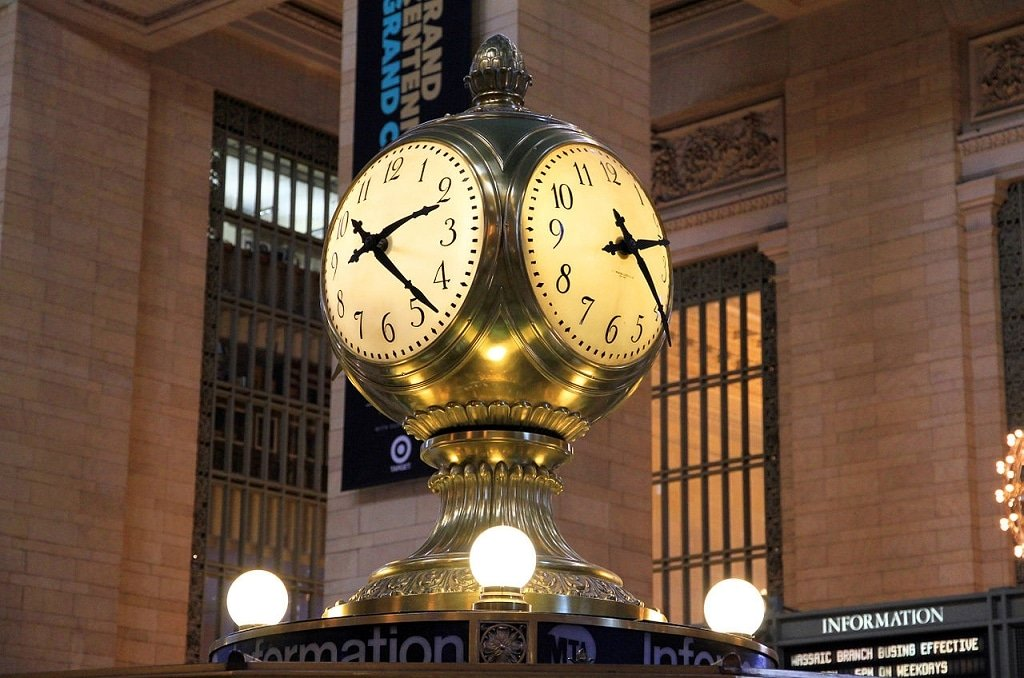 NYC Grand Central Terminal Clock